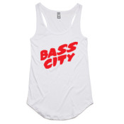 Bass City - Ladies Racerback Singlet