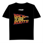 Back 2 The Old School  - Men's Tall Tee (Back Print Only)